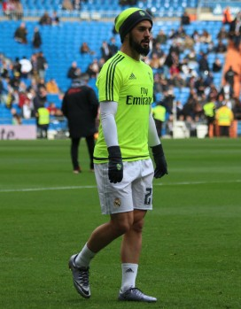REAL MADRID SPORTING - ISCO (4)